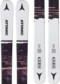 Atomic PUNX JR Ski Only Skis, 130cm Grey/Brown