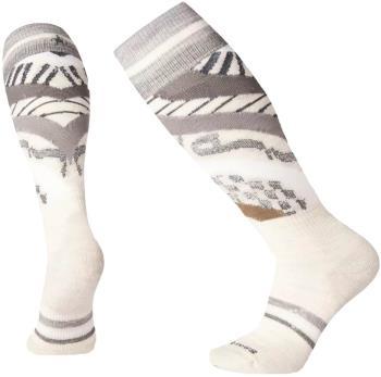 Smartwool PhD Ski Light Pattern Women's Ski Socks, L Moonbeam