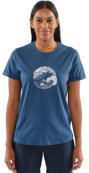 Montane Great Mountain Women's Climbing T-shirt, UK 10 Orion Blue
