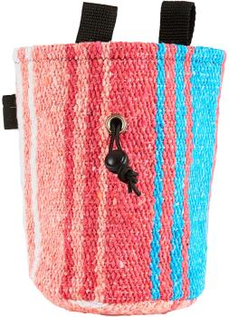 Static Traveller Series Rock Climbing Chalk Bag : White, Pink, & Blue