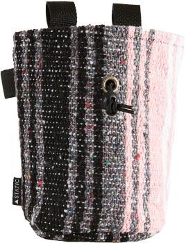 Static Traveller Series Rock Climbing Chalk Bag : White, Grey, & Pink