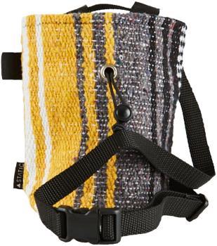 Static Traveller Series Rock Climbing Chalk Bag: Black, Grey, & Yellow