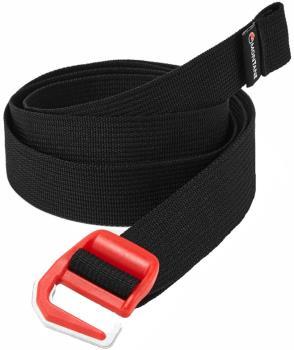 Montane Loop Hook Closure Webbing Belt, Black/Red