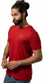 Montane Adult Unisex X Bmc Crag Calls Short Sleeve Climbing T-Shirt, M Redwood