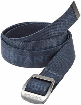 Montane Lasso Adjustable Webbing Belt, One Size Narwhal Blue