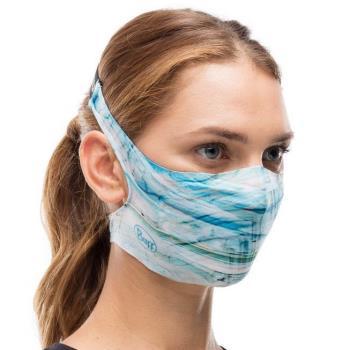 Buff Filter Protective Reusable Face Mask, One Size Makrana Blue