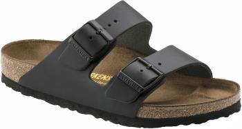 Birkenstock Arizona Natural Leather Sandals, UK 8 Black