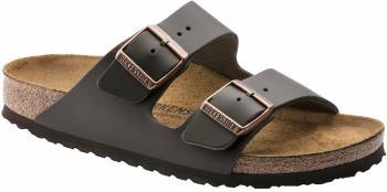 Birkenstock Arizona Natural Leather Sandals, UK 5.5/6 Dark Brown