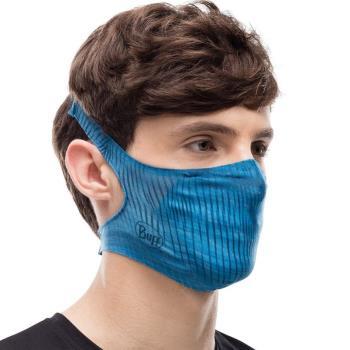 Buff Filter Protective Reusable Face Mask, One Size Keren Blue