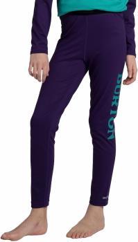 Burton Midweight Kids' Base Layer Pants, Age 10 Parachute Purple