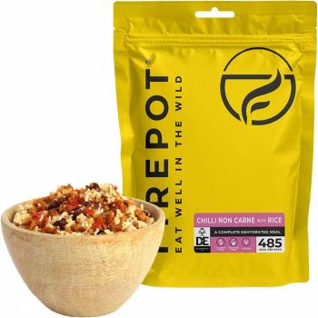 Firepot Chilli Non Carne + Rice Camping & Backpacking Food