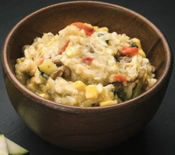 Real Turmat Squash & Sweet Corn Casserole Outdoors Food