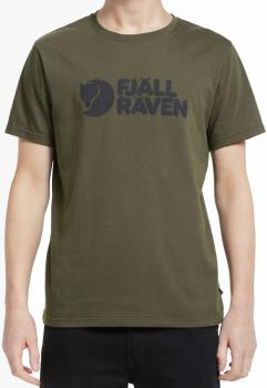 Fjallraven Fjällräven Logo Short Sleeve Graphic T-Shirt, L Dark Olive