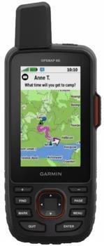 Garmin GPSMAP 66i Handheld GPS Device TOPO GB Pro 1:50k Communicator