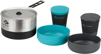 Sea to Summit Sigma Cook Set 2.1 Camping Cookware, 1.9L Stainless
