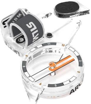 SILVA Arc Jet S Left Orienteering Thumb Compass, OS N/a