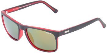 Sinner Adult Unisex Skagen Sintec Winter/Summer Smoke Wayfarer Sunglasses, M Black/Red