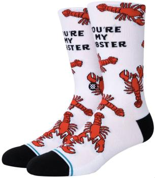 Stance Friends Skate/Crew Socks, S You're My Lobster