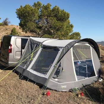 Summer Line Adventurer Air Inflatable Campervan Awning, Grey