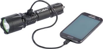 Stubai Tactical LED Torch Handheld Flashlight, 800 Lumens Black