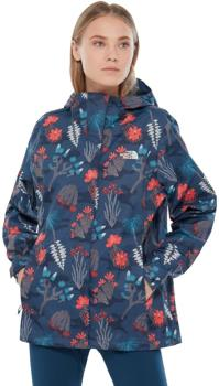 The North Face Print Venture Jacket,UK 8 Blue Wing Teal