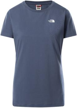 The North Face Simple Dome Women's T-Shirt, UK 12 Vintage Indigo