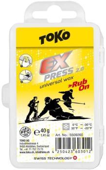 Toko Express 2.0 Rub-On Ski/Snowboard Wax, 40g