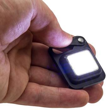 True Utility ButtonLite USB Rechargeable Keyring Light, 47lms
