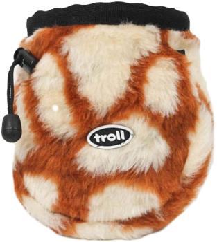 Troll Furry Rock Climbing Chalk Bag Giraffe