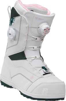Nidecker Womens Trinity Focus Boa Women's Snowboard Boots, Uk 6 White 2021