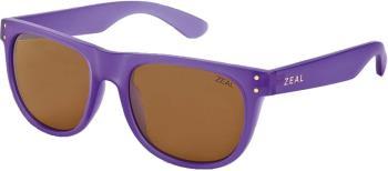 Zeal Ace Sunglasses M Deep Purple Copper