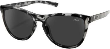Zeal Bennett Dark Grey Sunglasses, M Slate Tortoise