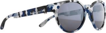 Red Bull Spect Wing 4 Smoke Polarised Sunglasses, M/L Dark Blue/Grey