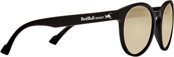 Red Bull Spect Lace Gold Flash Polarised Sunglasses, M/L Matt Black