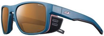 Julbo Shield M Reactiv HM 2-4 Mountain Sunglasses, OS Dark Blue/Pink