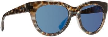 Von Zipper Queenie Blue Chrome Lens Sunglasses, Quartz Tortoise Gloss