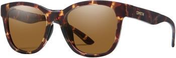 Smith Caper Brown Women's Sunglasses, M Matte Tortoise