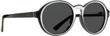 Von Zipper Lula Grey Lens Sunglasses, M Black/White