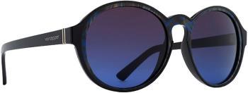 Von Zipper Lula Brown Blue Gradient Lens Sunglasses M, Black Swirl