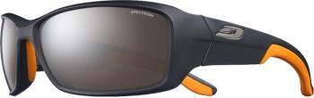 Julbo Run SP4+ Trail Run/Mountain Sunglasses, OS Black/Orange
