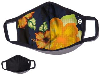 Stance Reversible Reusable Face Mask, O/S Hibiscus Smear