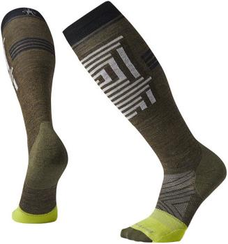 Smartwool PhD Pro Freeski Ski/Snowboard Socks, L Military Olive