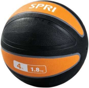 SPRI Xerball Medicine Ball, 1.8 Kg Orange