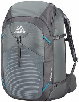 Gregory Tribute 40 Adventure Travel Backpack, 40L Mystic Grey