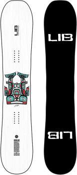 Lib Tech Double Dip Hybrid Camber Snowboard, 163cm 2021