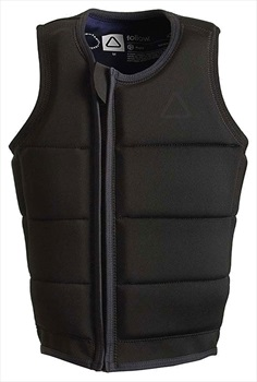 Follow Raph Collection Wakeboard Impact Vest, Medium Black 2020