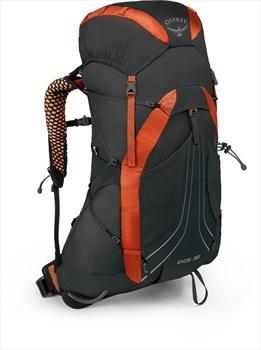 Osprey Exos 38 SM Fast & Light Backpacking Pack, Blaze Black