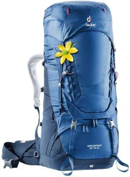 Deuter Aircontact 60 + 10 SL Women's Backpack, 60L Steel-Midnight