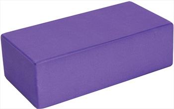 Yoga Mad Hi-Density EVA Yoga/Pilates Brick, Purple