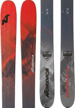 Nordica Enforcer Free 110 Skis, 191cm Red/Grey 2020